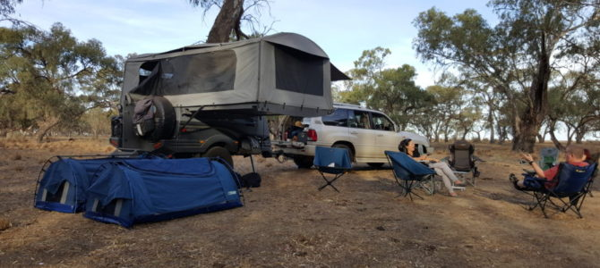 Nine Mile Reserve Rest Area – Hay